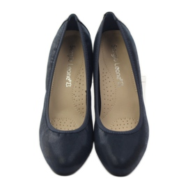 Sergio Leone Pumps On Pistil 233 dark blue navy 4