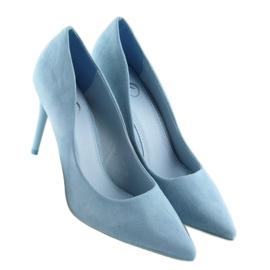 Blue women's studs GF-JX78 L.BLUE 4