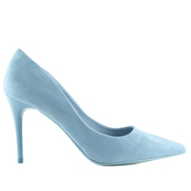 Blue women's studs GF-JX78 L.BLUE 2