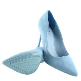 Blue women's studs GF-JX78 L.BLUE 3