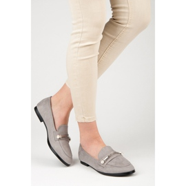 Seastar Loafers With Pearls grey 2