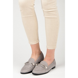 Seastar Loafers With Pearls grey 1