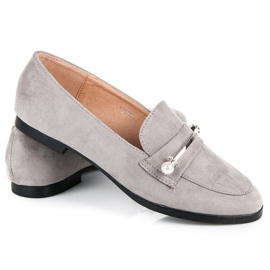 Seastar Loafers With Pearls grey 4
