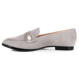 Seastar Loafers With Pearls grey 5