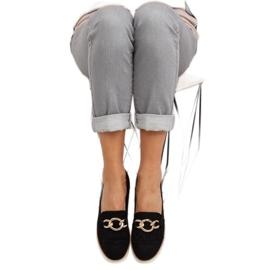 Women's loafers black G237 black 3
