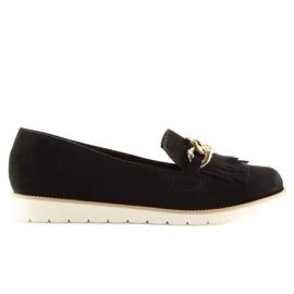 Women's loafers black G237 black 2