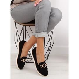 Women's loafers black G237 black 5