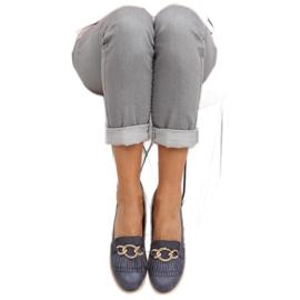 Women's loafers navy blue G237 blue 4
