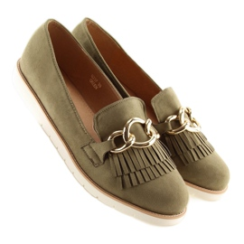 Loafers green G237 Green 1
