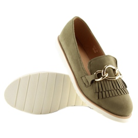 Loafers green G237 Green 3