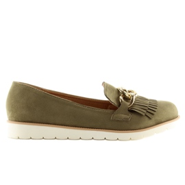 Loafers green G237 Green 5