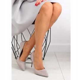 Elegant gray women's shoes NF-23P Gray grey 2