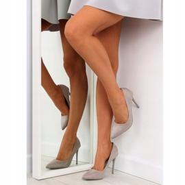 Elegant gray women's shoes NF-23P Gray grey 1