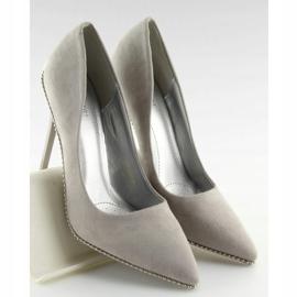 Elegant gray women's shoes NF-23P Gray grey 5