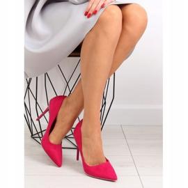 Elegant fuchsia women's high heels NF-23P Fushia pink 1