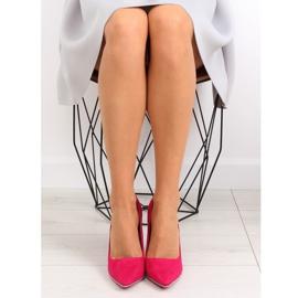 Elegant fuchsia women's high heels NF-23P Fushia pink 2