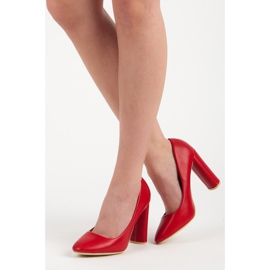 Red classic pumps 2