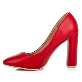 Red classic pumps 3