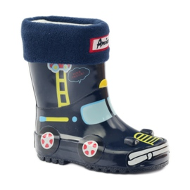 American Club Wellington boots sock + insole American TRUCK yellow red navy 1