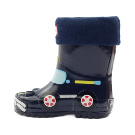American Club Wellington boots sock + insole American TRUCK yellow red navy 2