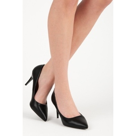 Classic black high heels 1
