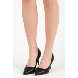 Classic black high heels 6