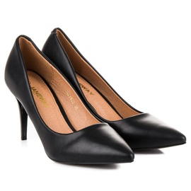 Classic black high heels 5