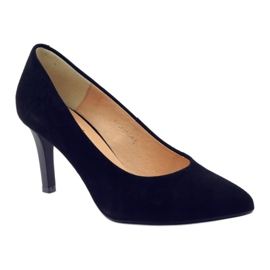 Business pumps on the ESPINTO 542 heel black 1