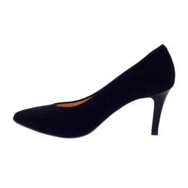 Business pumps on the ESPINTO 542 heel black 2