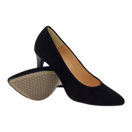 Business pumps on the ESPINTO 542 heel black 3