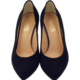 Business pumps on the ESPINTO 542 heel black 4