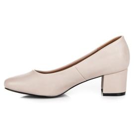 Low heels vices brown 1