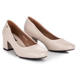 Low heels vices brown 3
