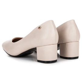 Low heels vices brown 2