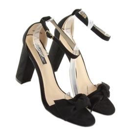 Sandals high heels black 118-11 black 4