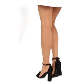 Sandals high heels black 118-11 black 2