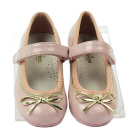 American Club Ballerinas shoes with an American bow pink 4