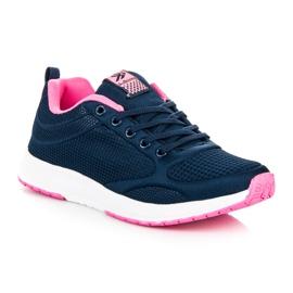 Ax Boxing Dark blue textile footwear 3