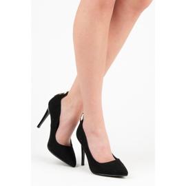 W. Potocki Sexy black high heels 2