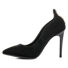 W. Potocki Sexy black high heels 3