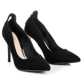 W. Potocki Sexy black high heels 5