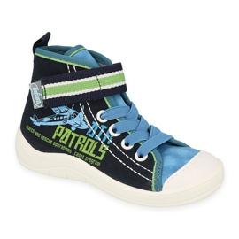 Befado children's shoes 268X066 navy 1