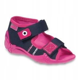 Befado children's shoes 242P056 navy pink 1