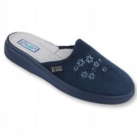 Befado women's shoes pu 132D012 navy 1
