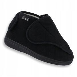 Befado women's shoes pu orto 163D002 black 1