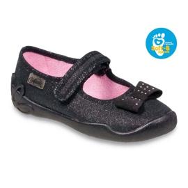 Befado children's shoes 114X240 black silver 1