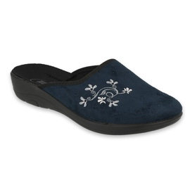 Befado women's shoes pu 552D005 navy blue 1