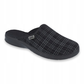 Befado men's shoes pu 548M003 black 1