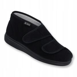 Befado men's shoes pu 986M003 black 1