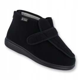 Befado men's shoes pu orto 987M002 black 1